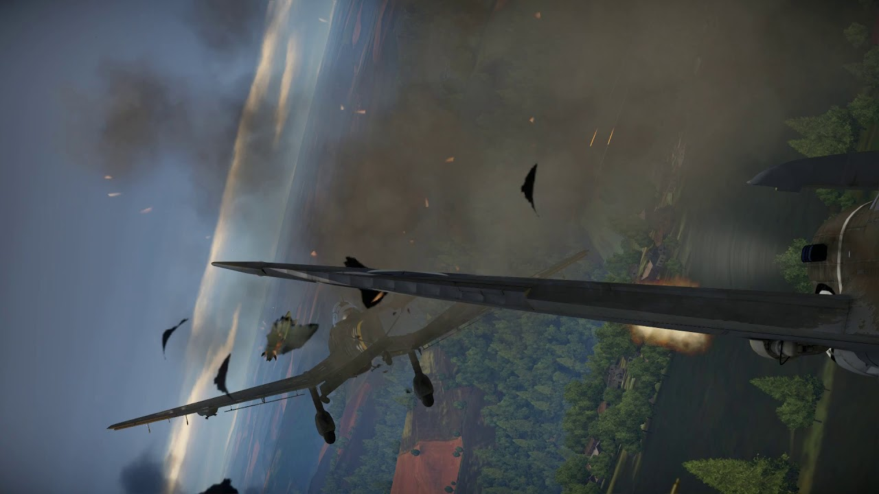 War Thunder - Ace-Kone VR Simulation Gameplay - YouTube