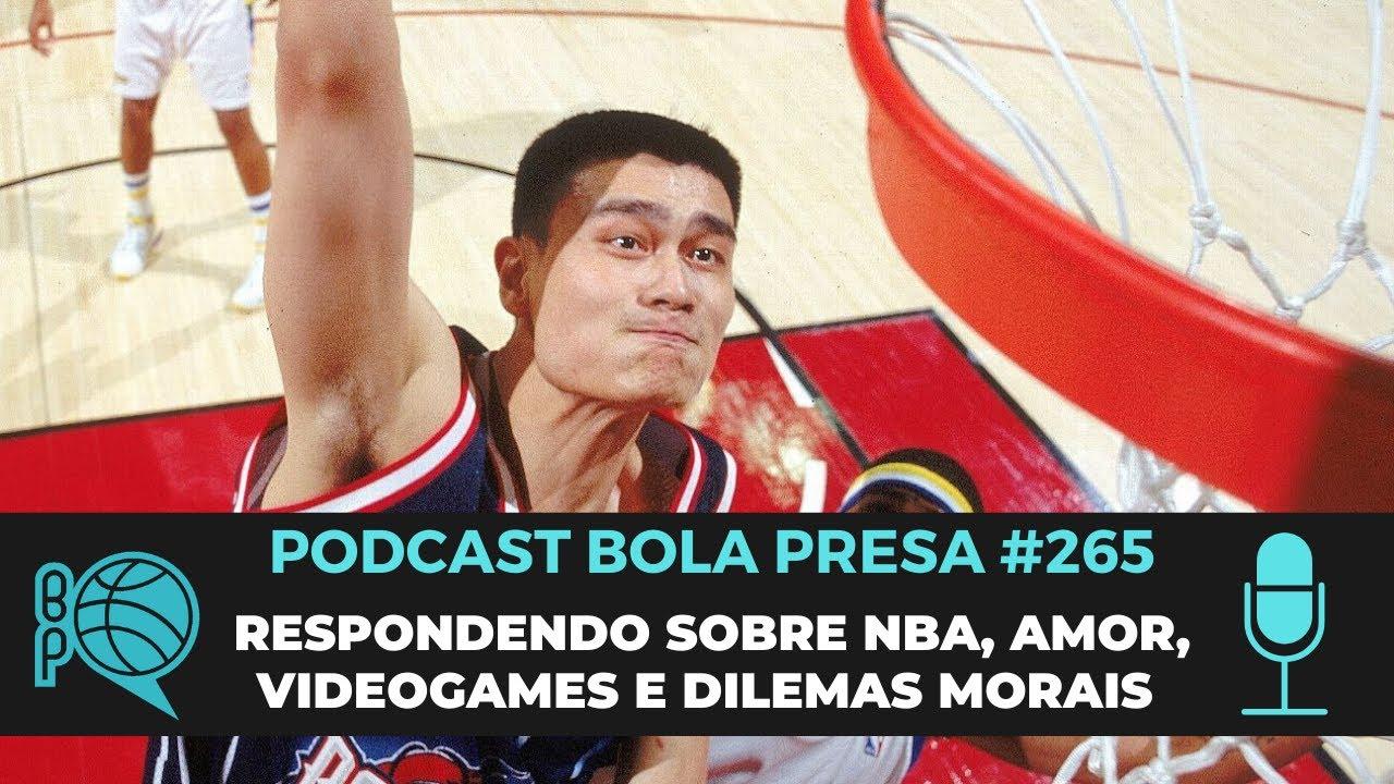 Podcast Bola Presa #265 -  Os desistentes da Bolha da NBA e muito BTPH