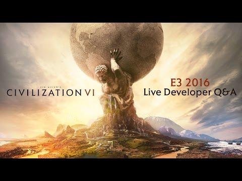 CIVILIZATION VI: Community Q&A (Exclusive info)