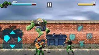 Incredible Monster Big Man Fighting Hero - HULK - STREET REVENGE #2 - Android Gameplay
