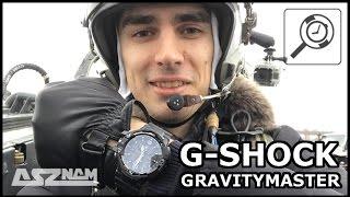Обзор G-SHOCK GRAVITYMASTER из кабины истребителя! :)