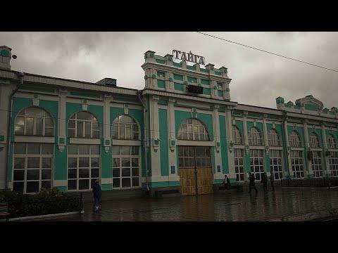 На поезде Тайга-Мариинск