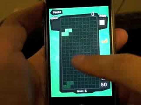 EA Tetris Gameplay On IPhone