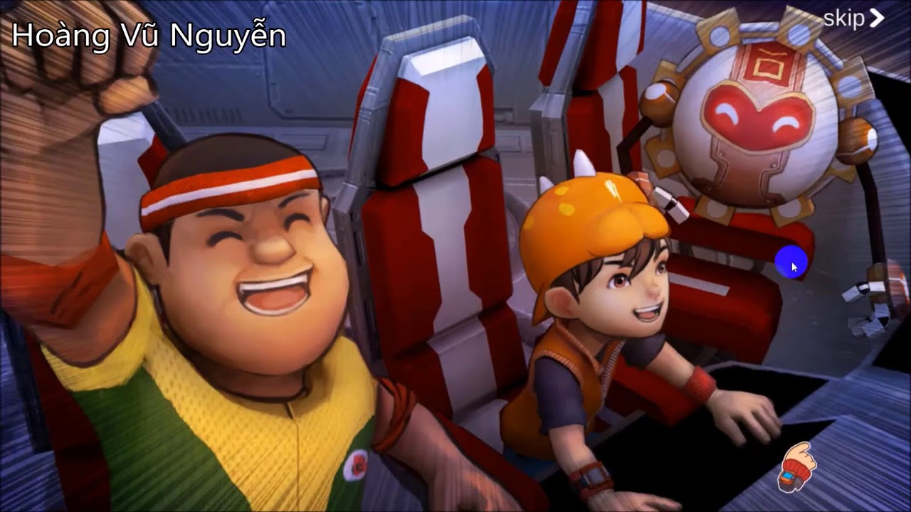 Boboiboy Daun And Boboiboy Api Are Here Boboiboy Galactic Heroes