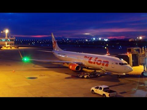 Thai Lion Air SL8580 DMK-HKT 14AUG2015 B737-9GP/ER HS-LTP Take off and Landing