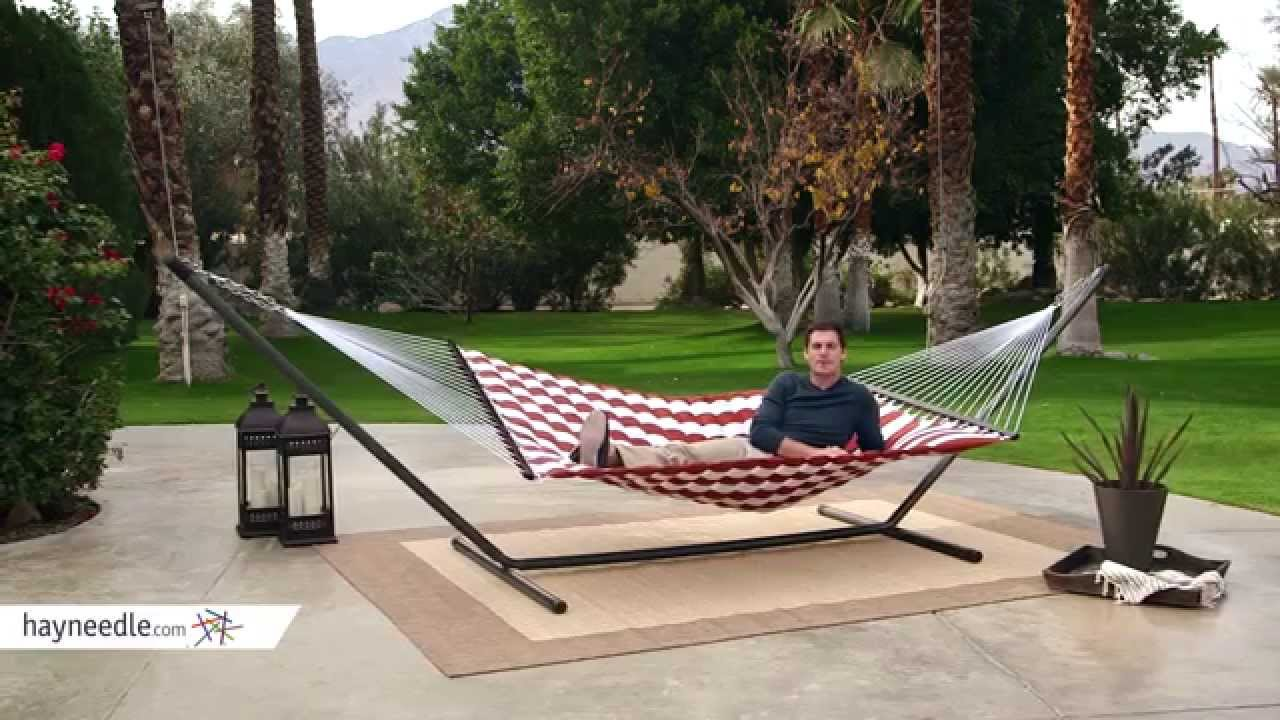 thick stripe pillow top hammock   product review video island bay 13 ft  thick stripe pillow top hammock   product review      rh   youtube
