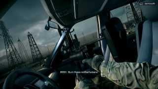 Battlifield 4 aracla helikopterden kaçış sahnesi