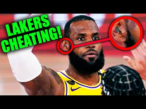 PROOF Lakers Cheating VS The Miami Heat In NBA