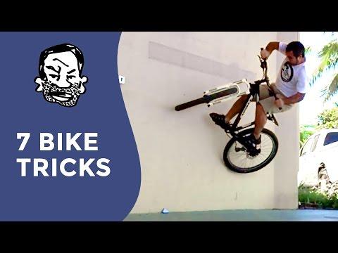 7 MTB Tricks You Can Do Anywhere