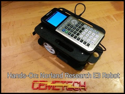 Norland Research E3 Robot for TI-84 Plus CE