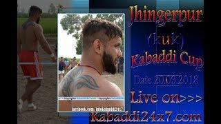 Download Video Jhingerpur [ KUK]  Kabaddi Cup  Live Now MP3 3GP MP4