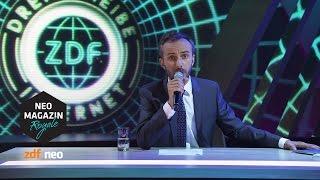 Drehscheibe Internet: YouTuber-Charts | #n NEO MAGAZIN ROYALE mit Jan Böhmermann - ZDFneo