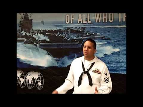 Logistics Specialist in the US Navy, Career Video from drkit.org