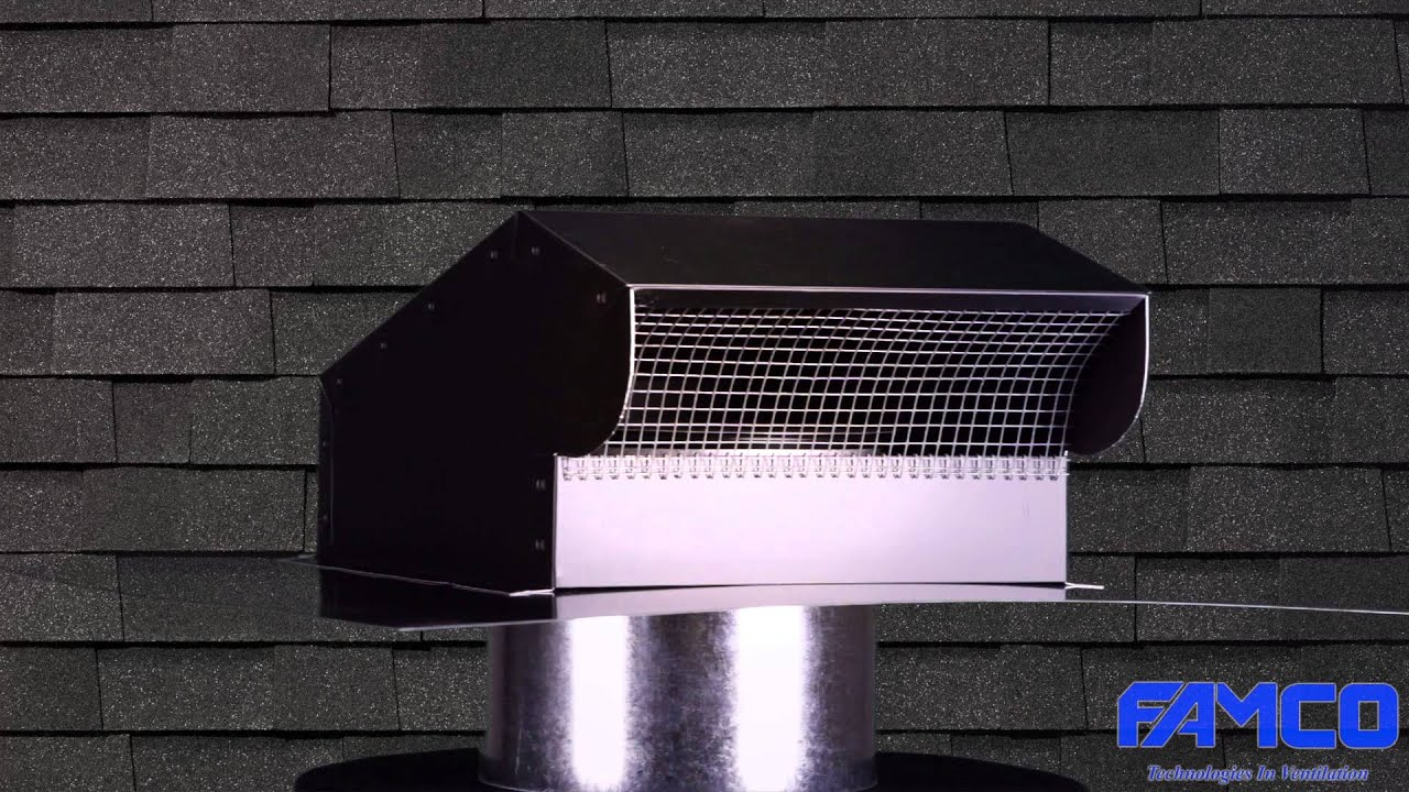 Bath and kitchen exhaust vent hvac products famco for Kitchen ventilation ideas