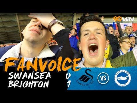First half Murray goal gives Brighton the win at Swansea! | Swansea 0-1 Brighton | 90min FanVoice