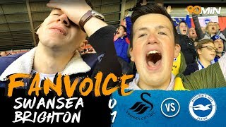 First half Murray goal gives Brighton the win at Swansea! | Swansea 0-1 Brighton | 90min FanVoice