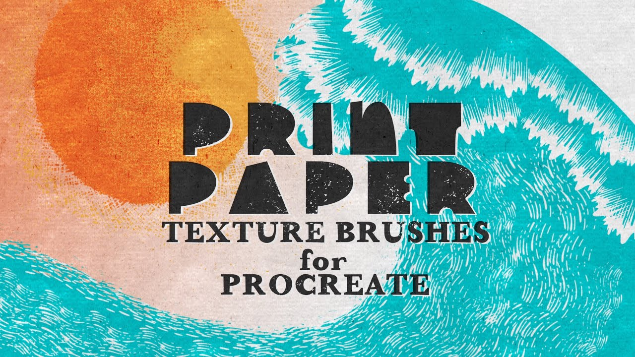 How to use Your Print Paper Texture