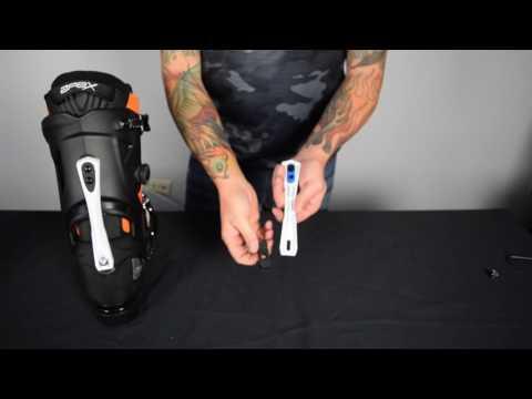 APEX SKI BOOTS Forward Lean Adjustment Guide