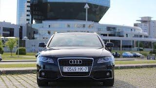Тестдрайв: Audi A4 B8, 2.0tdi, S-Line, (2010my)