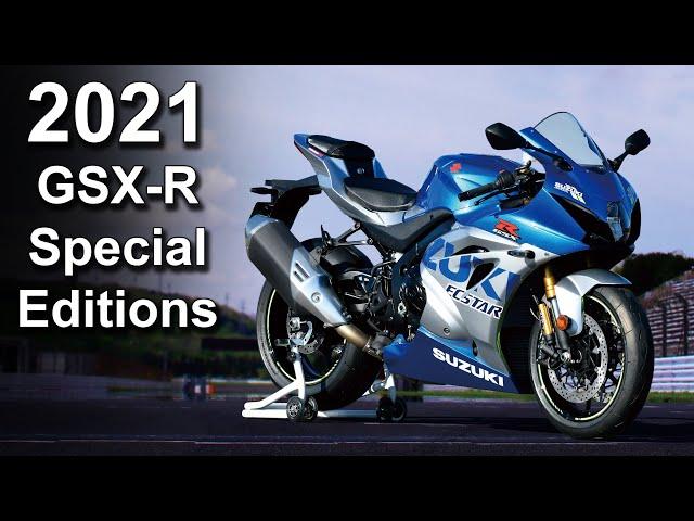 2021 Suzuki GSX-R1000R | GSX-R600 | GSX-R750 | 100th Anniversary - Australian Pricing & Availability