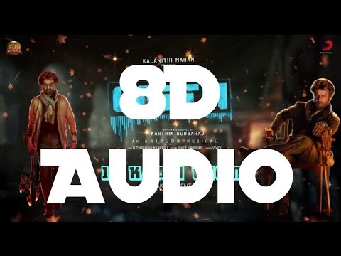 Kaali theme - Petta || 8D Audio || Anirudh || Switch to 8D Audios