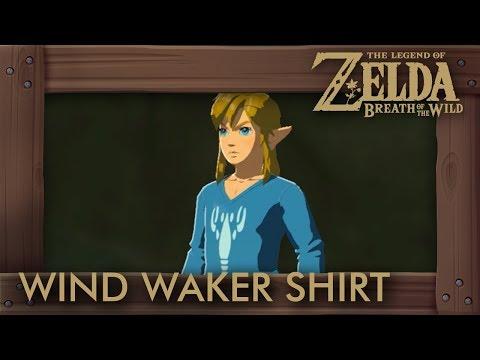Zelda Breath of the Wild - Island Lobster Shirt Location (Wind Waker Shirt)