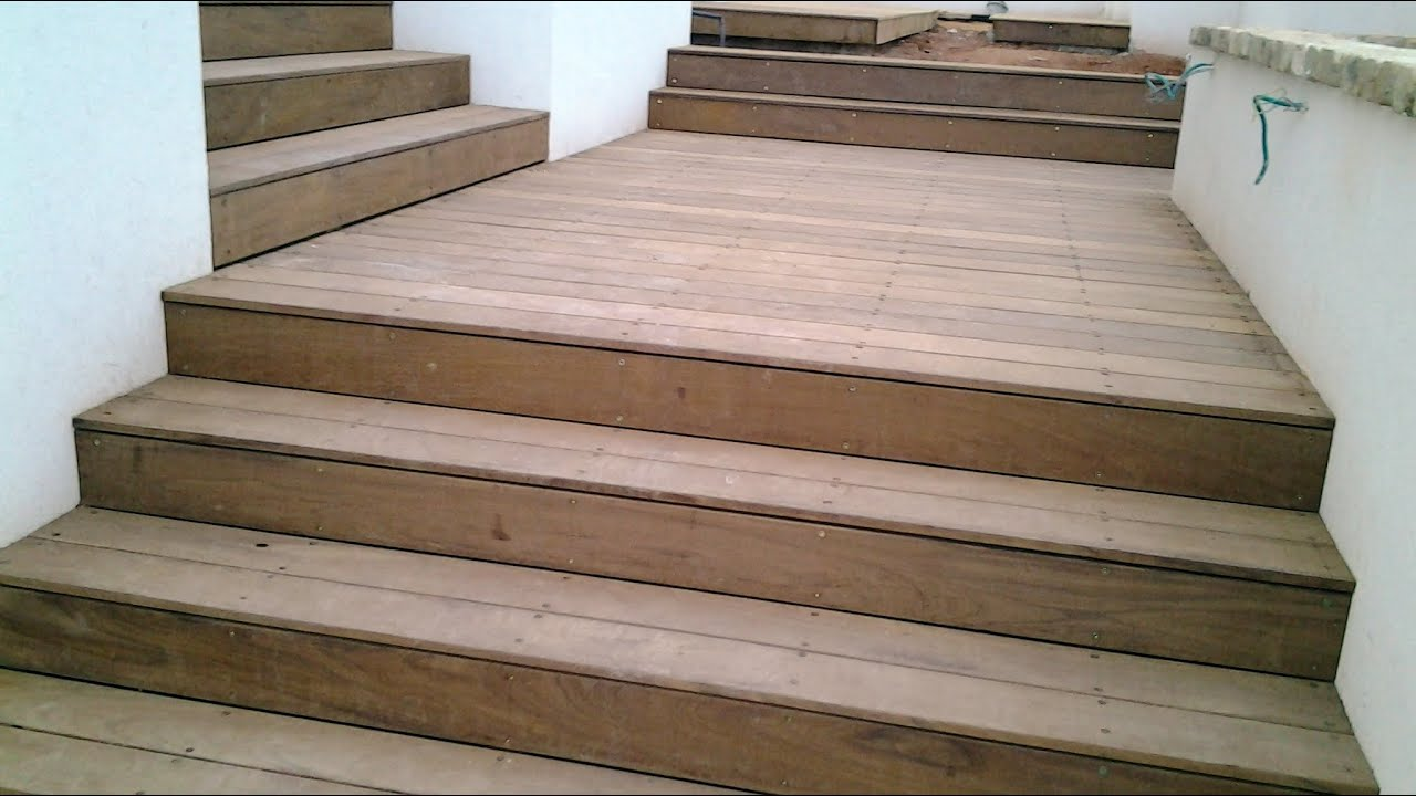 Decking Stairs Project With Ipe Hardwood(2 Of 2)