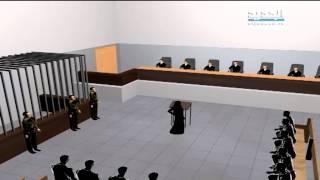 سجى الدليمي أمام العسكرية: نعم تزوجت البغدادي شهرا – جاد غصن  13-7-2015