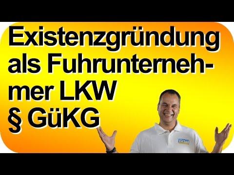 Existenzgründung als Fuhrunternehmer LKW GüKG selbständig Meine Erfahrungen. Matthias Schwehm live