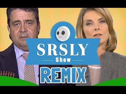 SPD Sigmar Gabriel im Streit mit Marietta Slomka Heute Journal (Song Parodie)   SRSLY Show