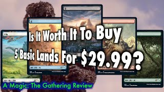 ALL 5 LANDS ONLY Magic The Gathering MTG Secret Lair The Godzilla Lands