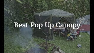 Best Pop Up Canopy 2018