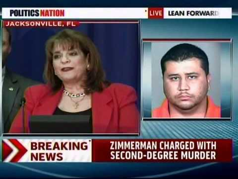 Zimmerman Charged with Second-Degree Murder