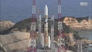 2016年11月2日、種子島宇宙センターから静止気象衛星「ひまわり9号」を...