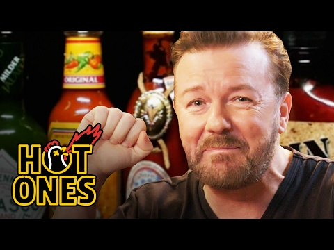 Ricky Gervais Pits His Mild British Palate...