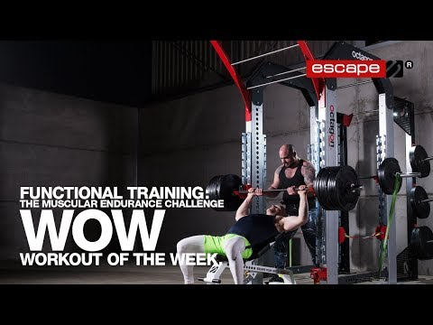 Functional Training: The Muscular Endurance Challenge Workout of the Week
