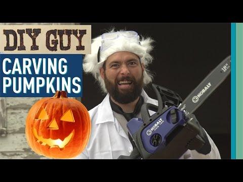 DIY Guy: Carving Pumpkins