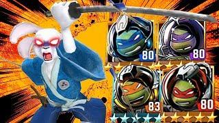 USAGI YOJIMBO and ALL SPACE NINJA TURTLES. Update X Teenage Mutant Ninja Turtles Legends Episode #27