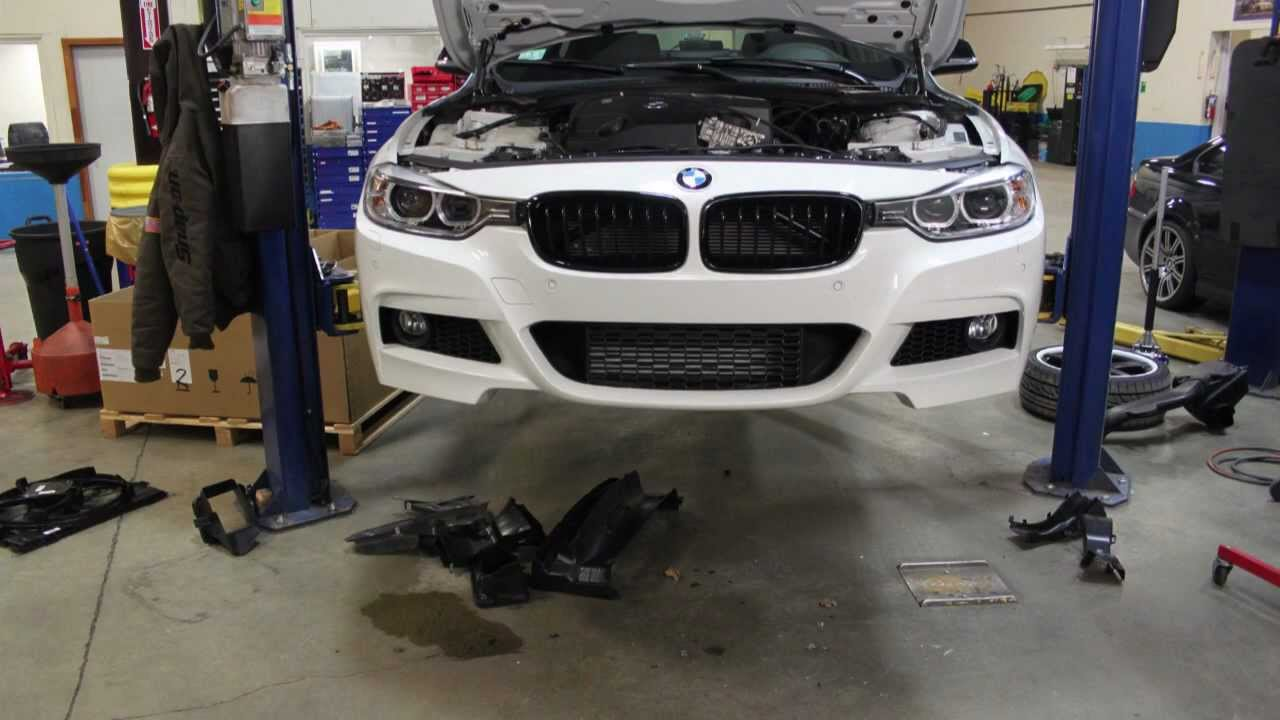 Watch A Bmw F30 M Sport Bumper Being Installed At Turner Motorsport 320i Wiring Diagram Time Lapse Youtube