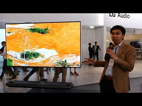 Download Youtube: LG 77-inch W7 Signature Wallpaper OLED TV at IFA 2017
