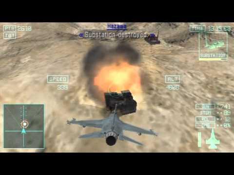 Ace Combat: Joint Assault - Part 8 - Spotlight - Bravo ...