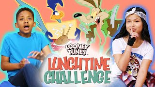 Wile E. Coyote & Road Runner Favorite Moments | Looney Tunes Lunchtime Challenge | WB Kids