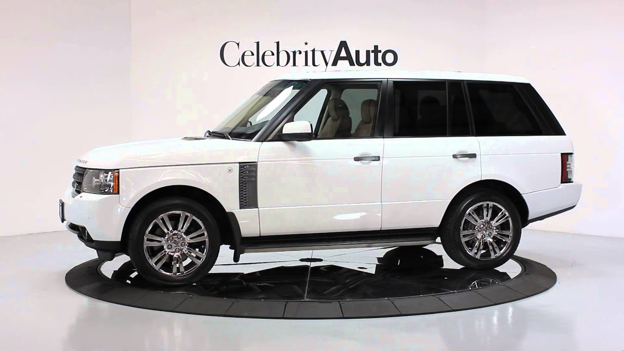 2011 land rover range rover hse luxury interior pkg wood and leather steering wheel youtube. Black Bedroom Furniture Sets. Home Design Ideas