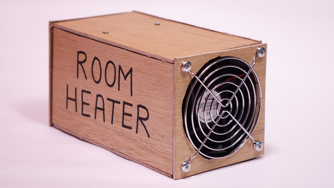 how to make a portable room heater at home under 1 youtube. Black Bedroom Furniture Sets. Home Design Ideas