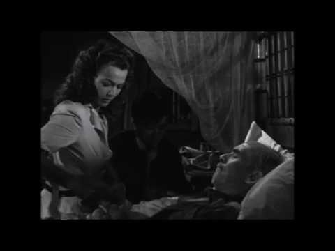 Carole Landis Helps Dying James Gleason ~ Manila Calling