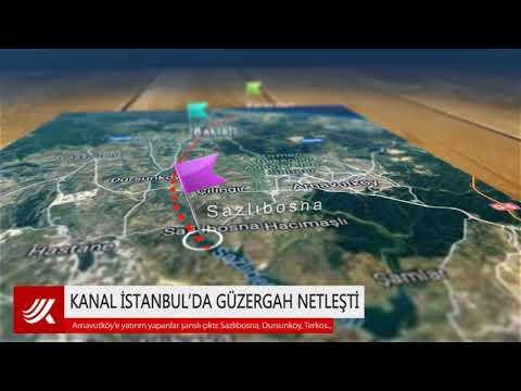 Kanal İstanbul'da güzergah netleşti: Beklenen oldu!
