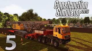 Construction Simulator 2015| EP5| A look at the new DLC Pt1