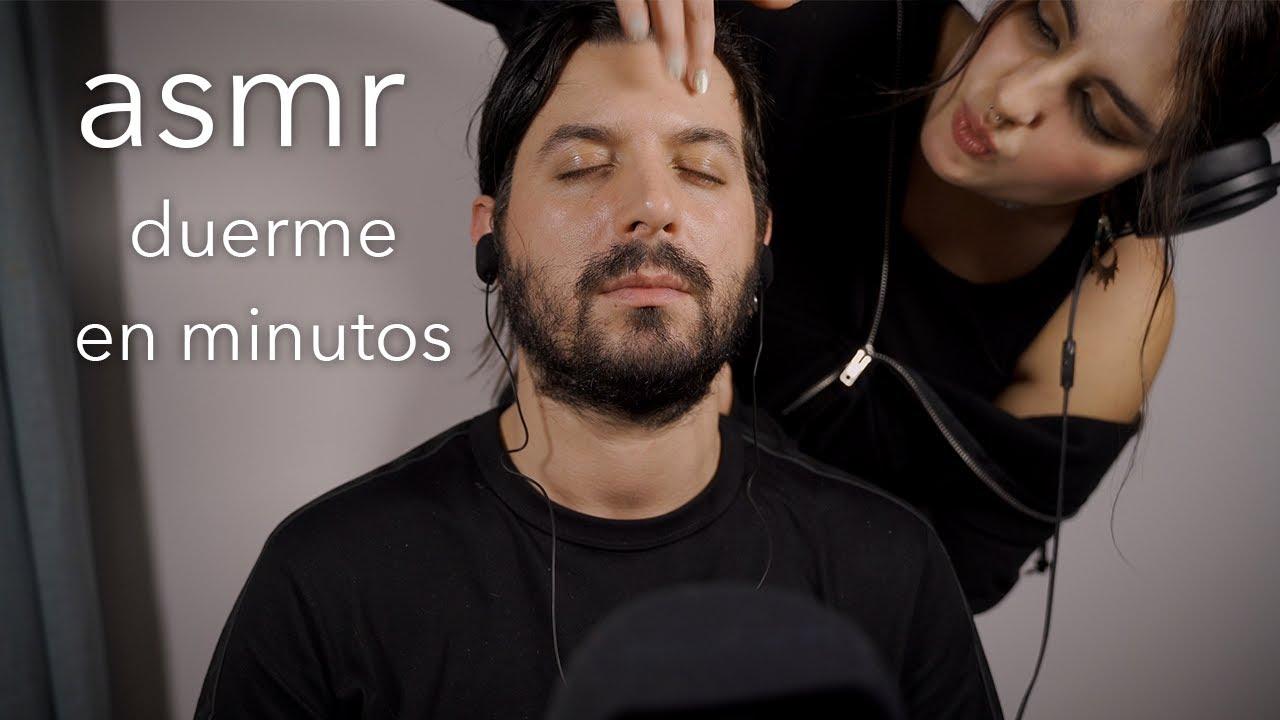 ASMR HIPERREALISTA - MASAJE de cuello, hombros y cabeza PARA DORMIR - Deados ASMR