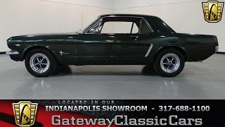 1965 Ford Mustang - Gateway Classic Cars Indianapolis - #318 NDY