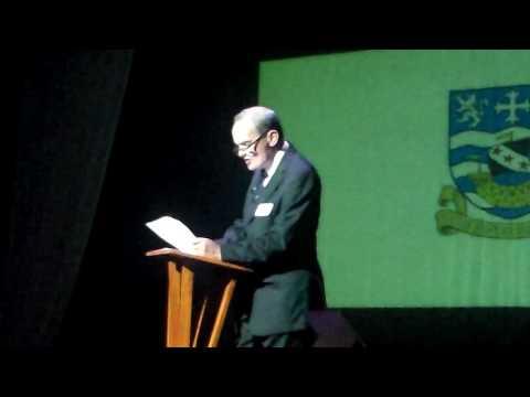 Speech By Dr Rugman on Fracking
